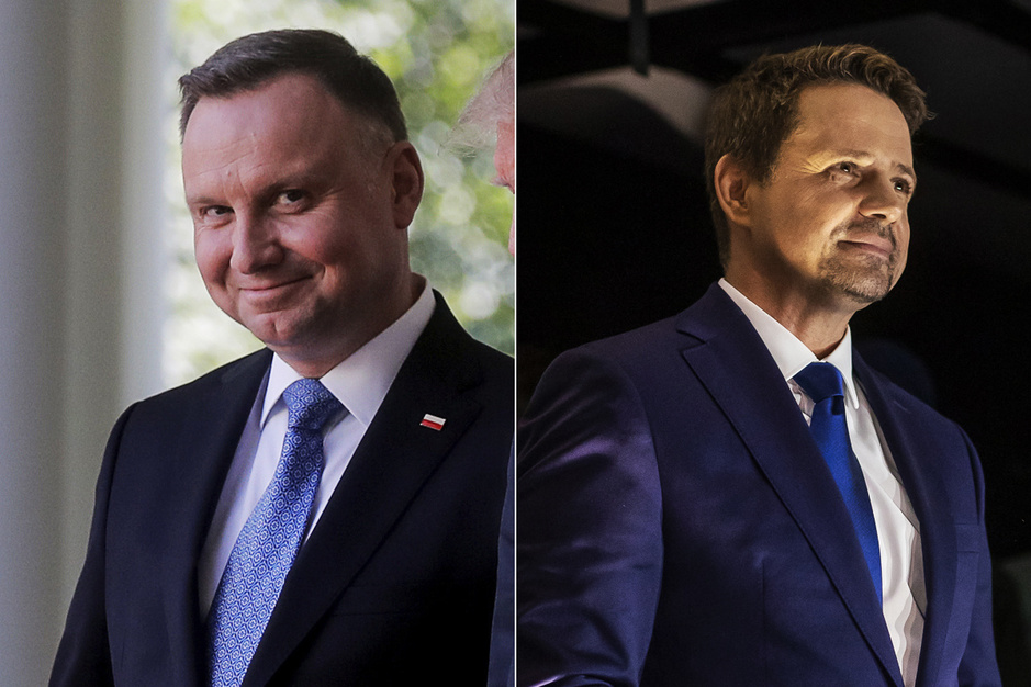 Nationalist Duda of toch liberaal Trzaskowski: wie wordt de nieuwe president van Polen?