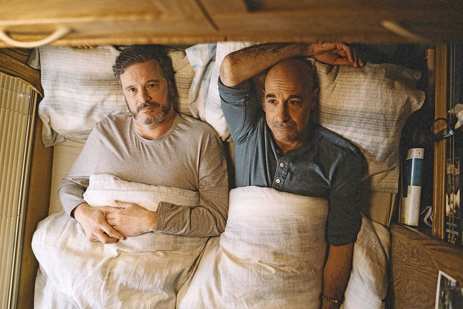 Stanley Tucci heeft het getest in 'Supernova': 'Colin Firth is een héél goede kusser'