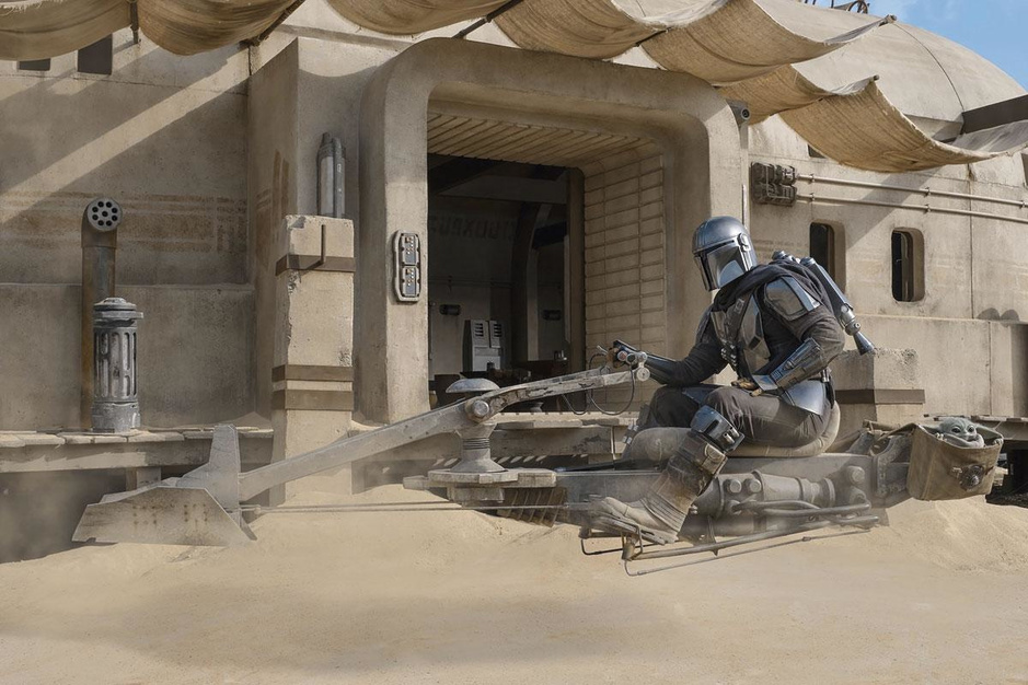 Les coulisses de la production de The Mandalorian