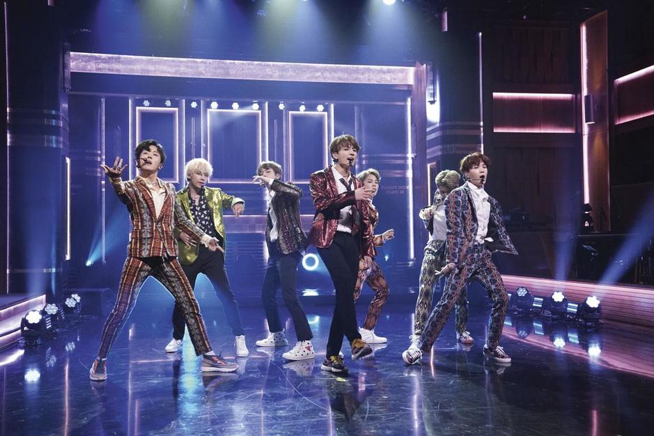 De kogelvrije padvinders van k-pop boysband BTS delven goud