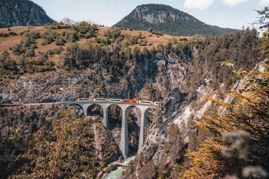Treinreis door Zwitserland: kijken is de kunst