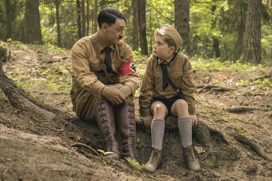 Hitler duikt weer op in 'Jojo Rabbit': 'Ik hoop dat de neonazi's netjes een bioscoopticket kopen'