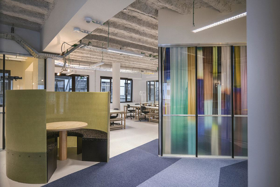 Galerie Maniera tovert Brusselse Shell-gebouw om in inspirerende coworking space