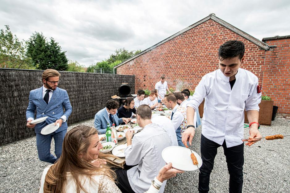 Schafttijd: dit eet het restaurantpersoneel