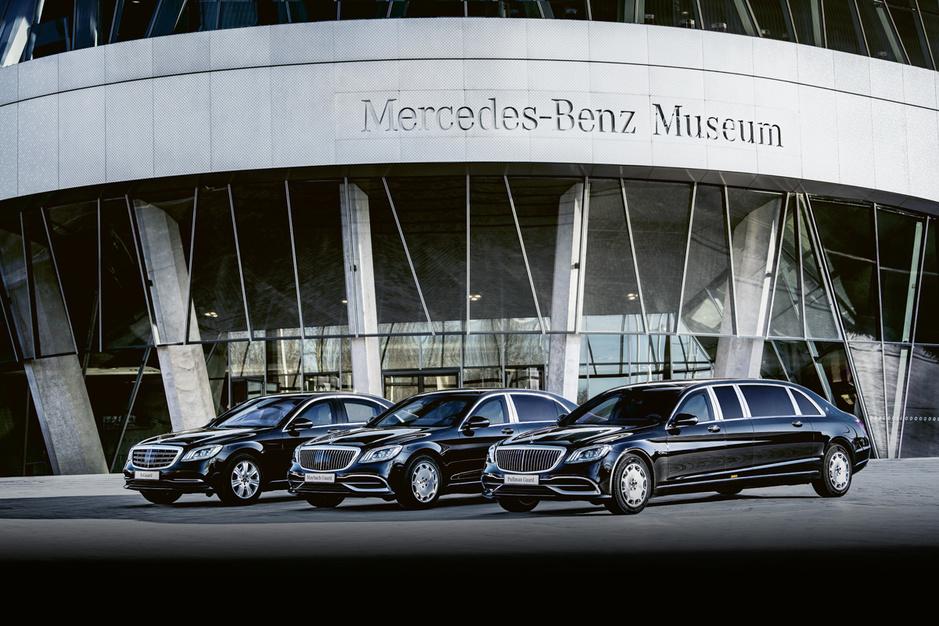 Mercedes-Benz Guard, als je leven je lief is