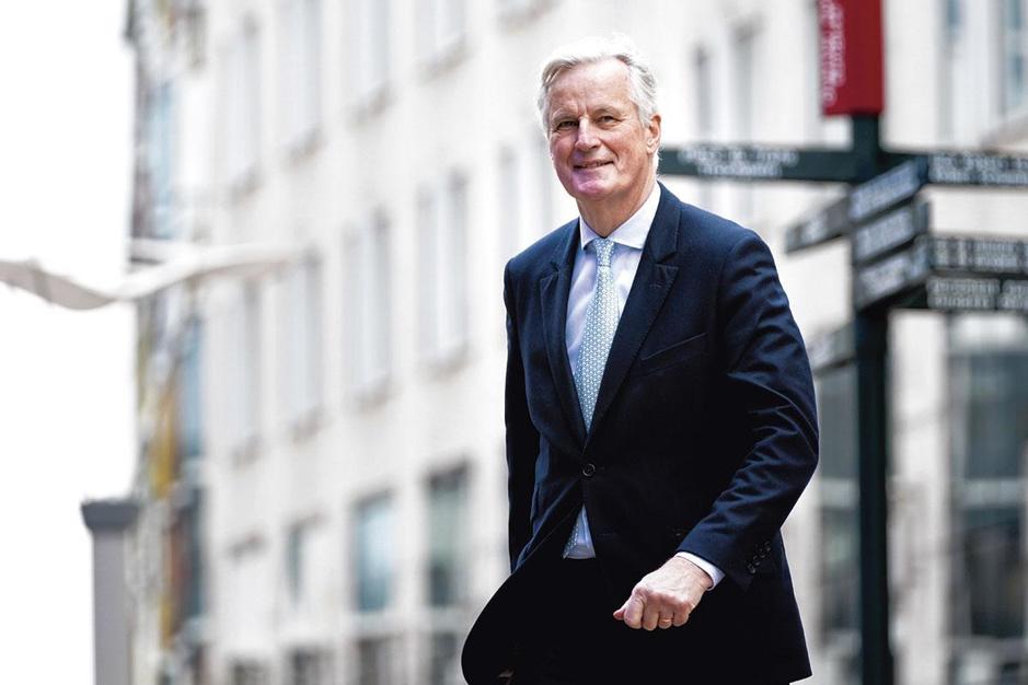 Brexit-onderhandelaar Michel Barnier: 'Ik laat me niet voor de gek houden'