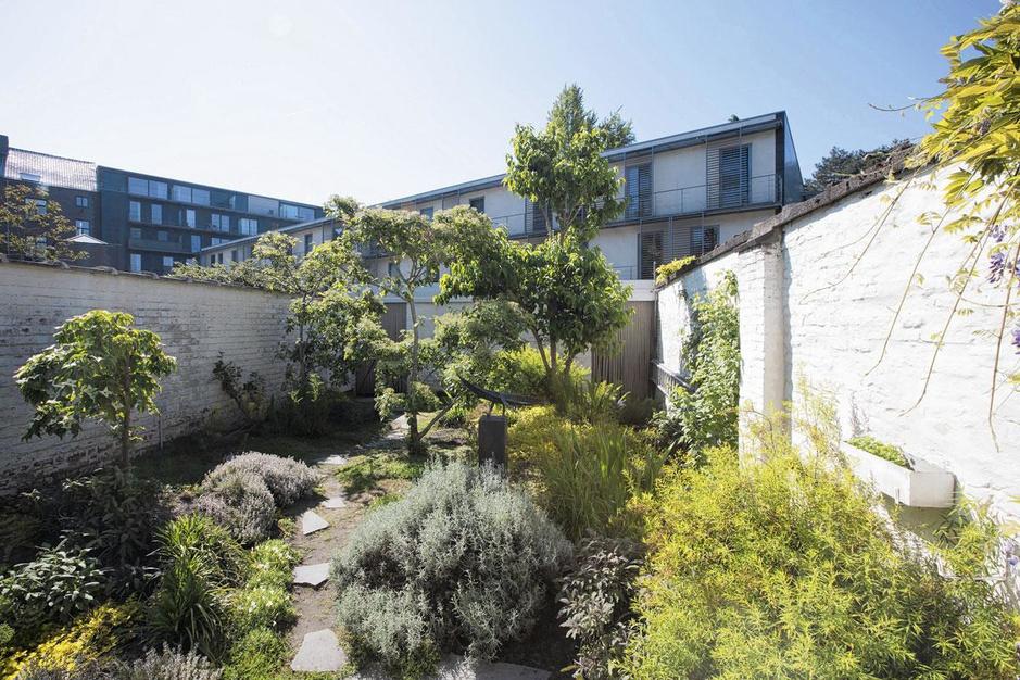 """Un jardin urbain conçu comme """"une vallée en ville"""""""