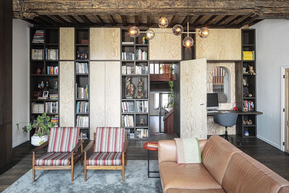 Illusion d'optique: À Gand, une somptueuse habitation aux airs de palazzo italien