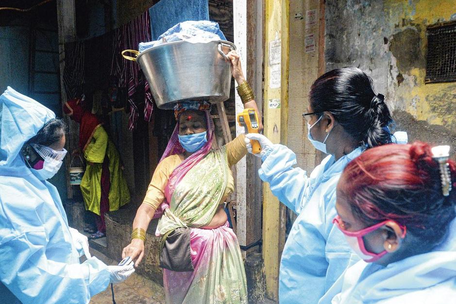 India kreunt onder de coronacrisis: 'Dit is ons donkerste jaar'