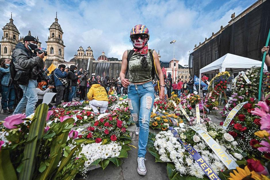 Protesten in Colombia: vijf jaar na het vredesakkoord staat het land weer in brand