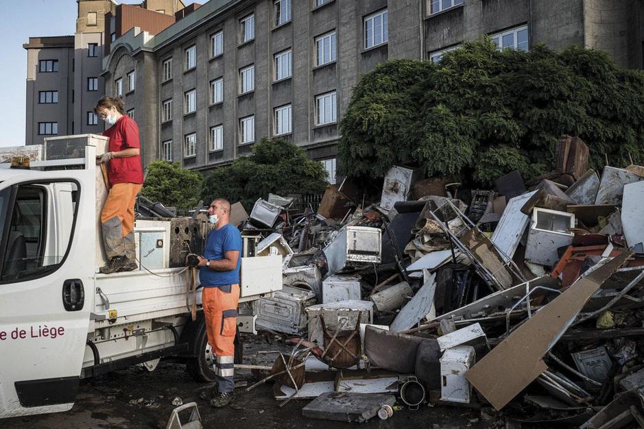 """Inondations: """"On a évité le pire"""""""