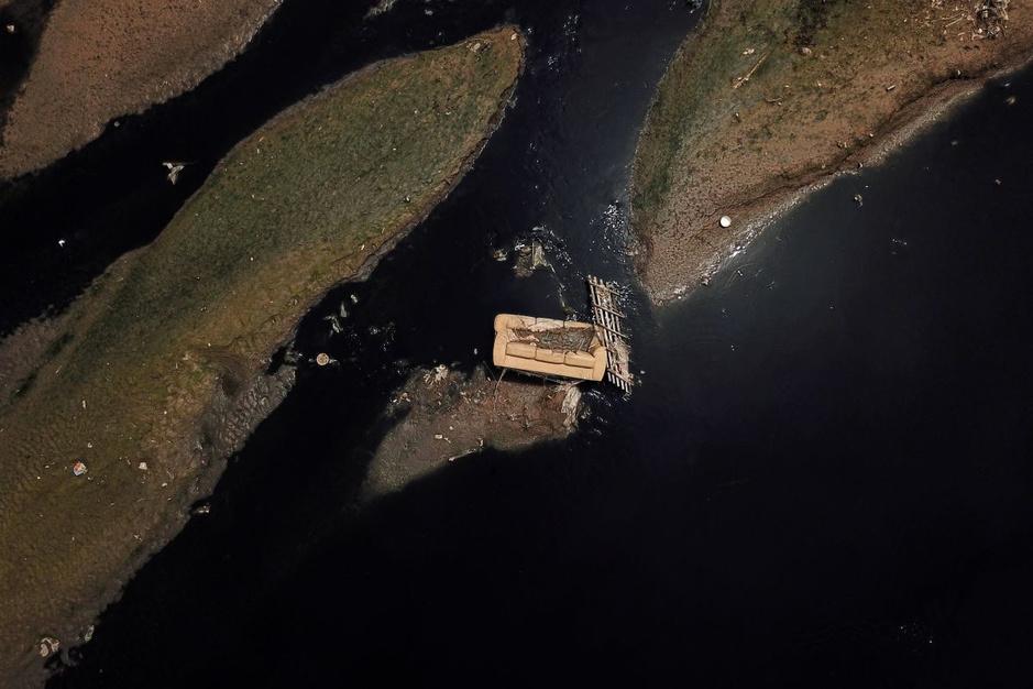 In beeld: Reuters-fotografen leggen vervuilde wateren in de wereld vast met drones