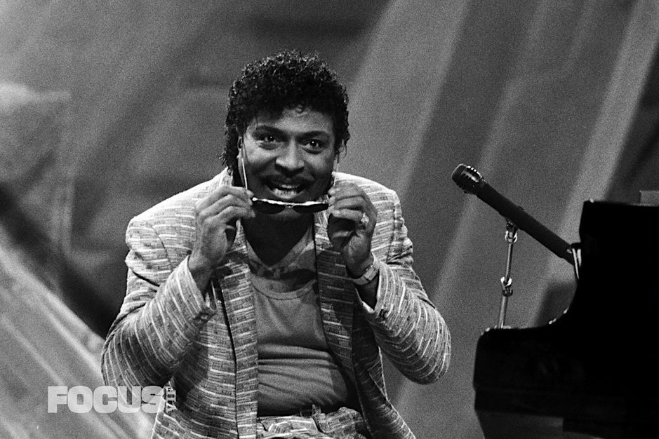 En images: Little Richard en Belgique en 1986