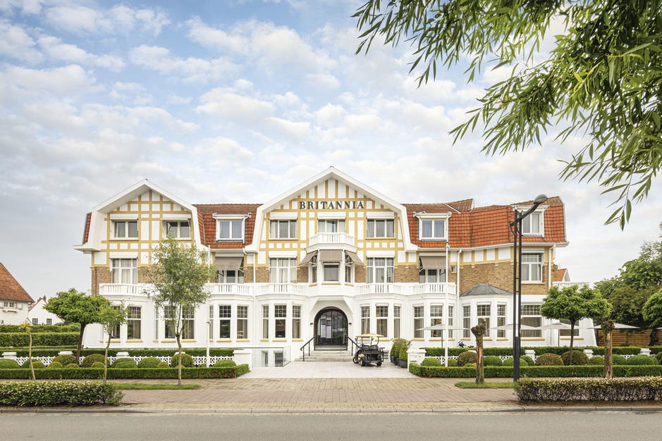 Onvoltooid verleden: vooroorlogs Hotel Brittannia in Knokke-Heist in een nieuw jasje gestopt
