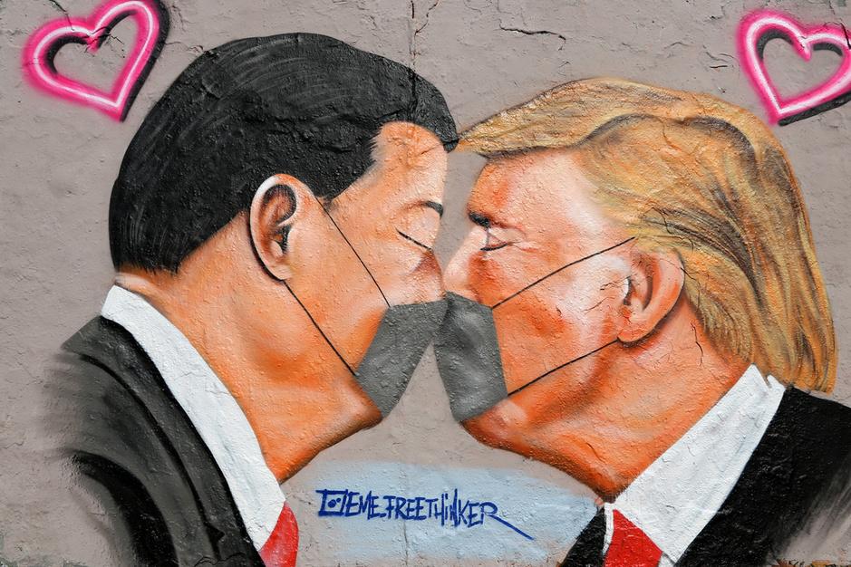 Conflict tussen China en VS: 'Niets heeft China meer geholpen dan Trumps arrogantie'