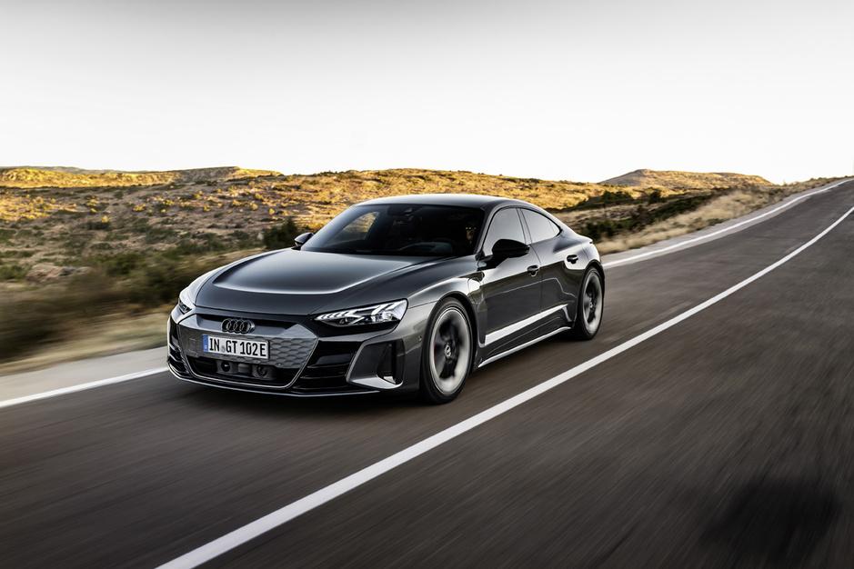 Audi legt met e-tron GT de lat zeer hoog