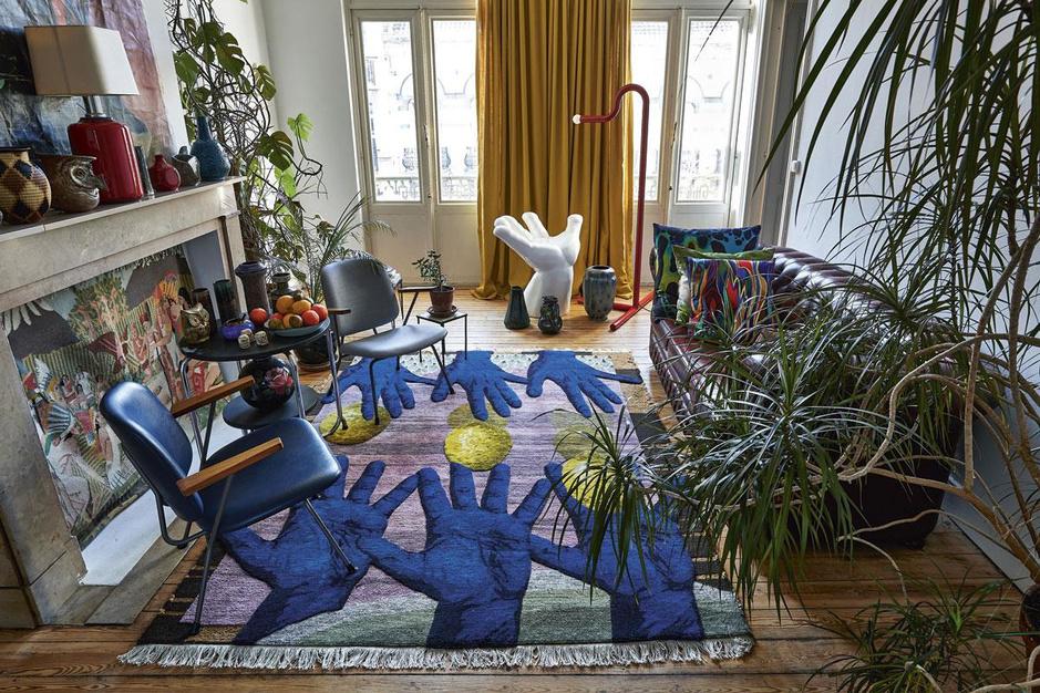 Kijk binnen in het fantasierijke universum van textielontwerper Christoph Hefti
