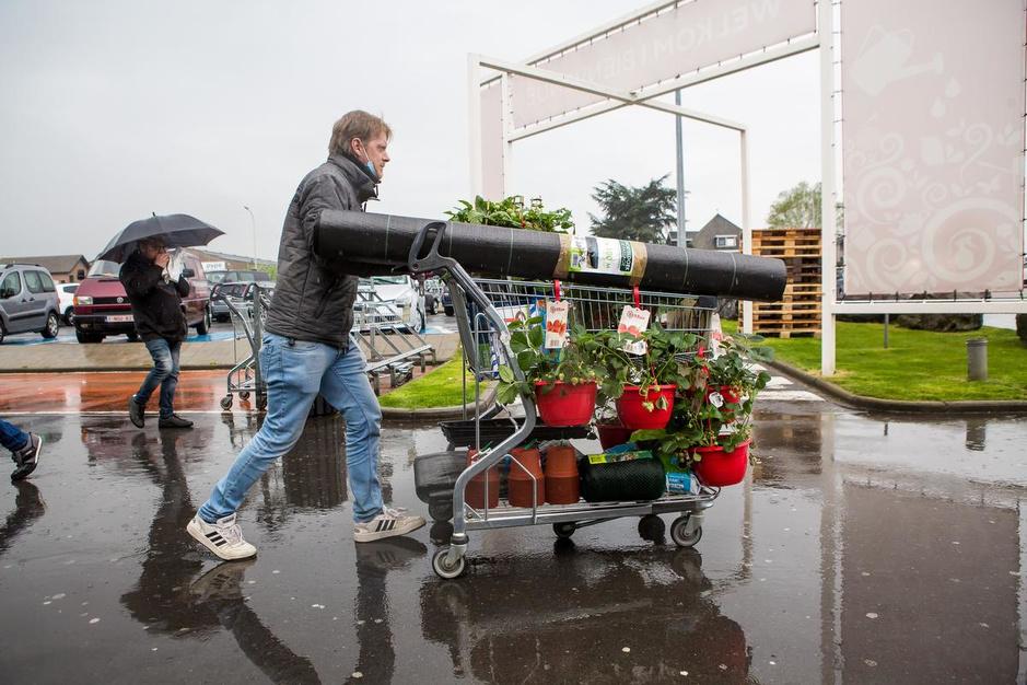 Floralux na één maand opnieuw open, maar grote overrompeling blijft uit
