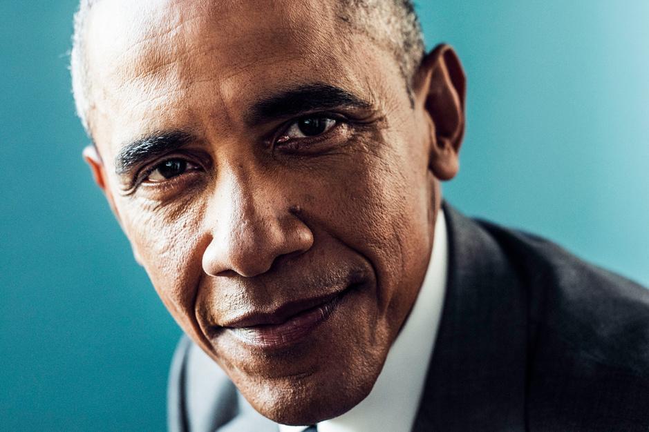 Oud-president Barack Obama: 'Amerika heeft altijd een oorlogszuchtig narratief gehad'