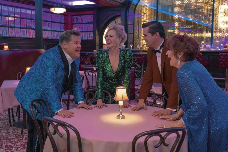 Karaokekoning James Corden ging op 'Broadway bootcamp'. Met Nicole Kidman en Meryl Streep