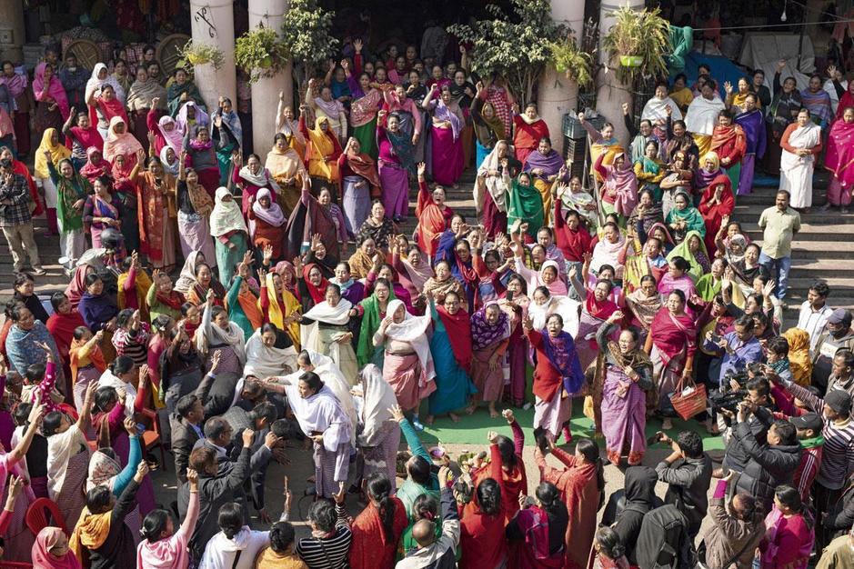 De Ima Keithel in India: een gigantische markt waar vrouwen de plak zwaaien
