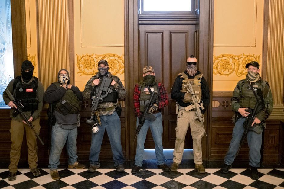Rechts-extremisten in VS hopen dat instabiliteit in een tweede burgeroorlog uitmondt