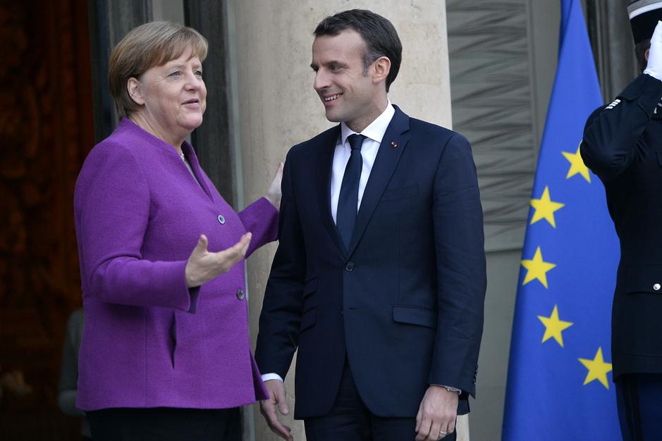 Is de Frans-Duitse motor terug van weggeweest? 'Macron moet beseffen dat hij niet de prins van Europa is'