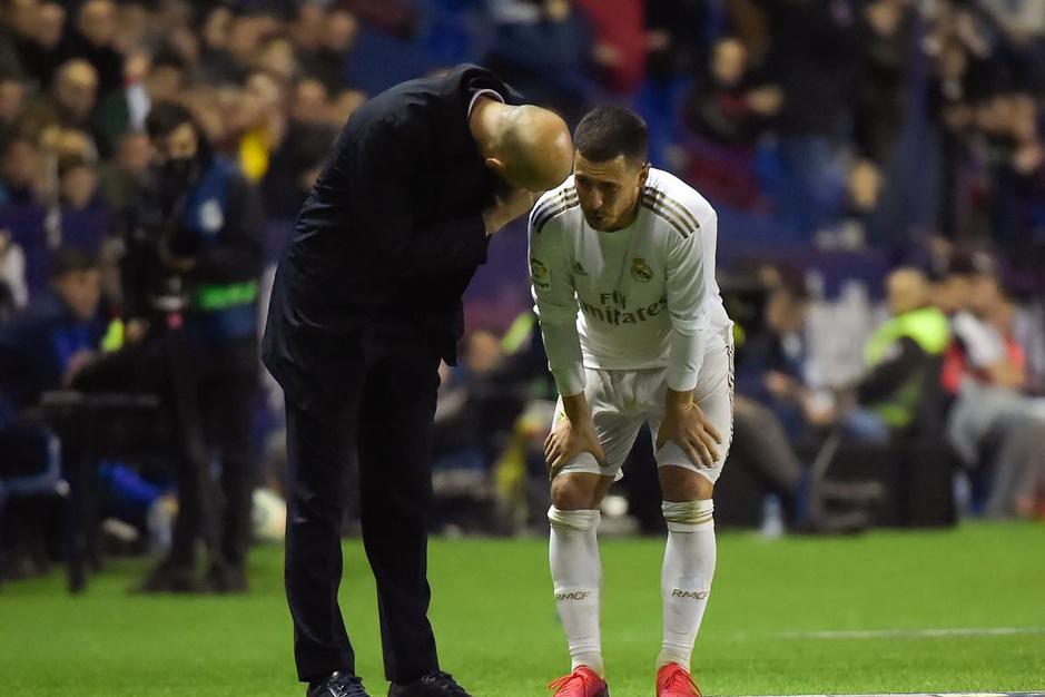 Eden Hazard opnieuw out met enkelblessure: seizoen afgelopen?