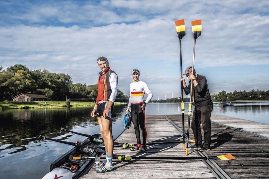 Toproeiers Tim Brys en Niels Van Zandweghe: 'Het is de max om eindelijk weer een doel te hebben'