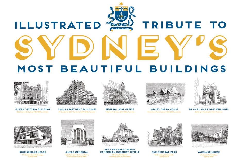 In beeld: een originele manier om de mooiste gebouwen in Sydney te bekijken