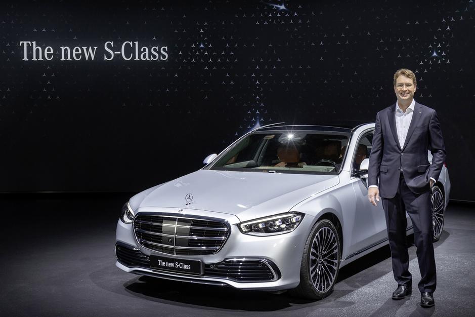 De nieuwe S-klasse is beslissend voor de toekomst van Mercedes-Benz