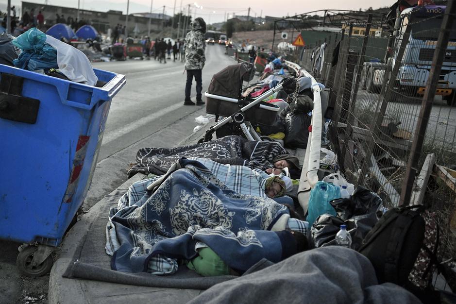 Wantoestanden op Lesbos: 'De situatie in Moria is pure horror geworden'