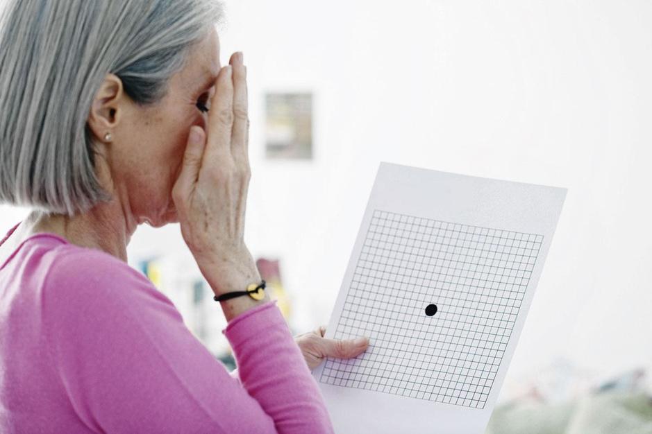 Netvliesveroudering: 'Een sterkere bril maakt geen verschil'