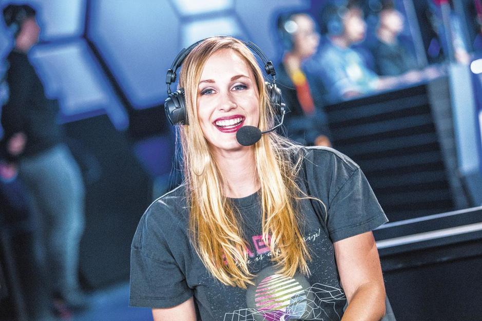 E-sport-presentatrice Eefje Depoortere: 'Computerspelletjes hebben mij gered'