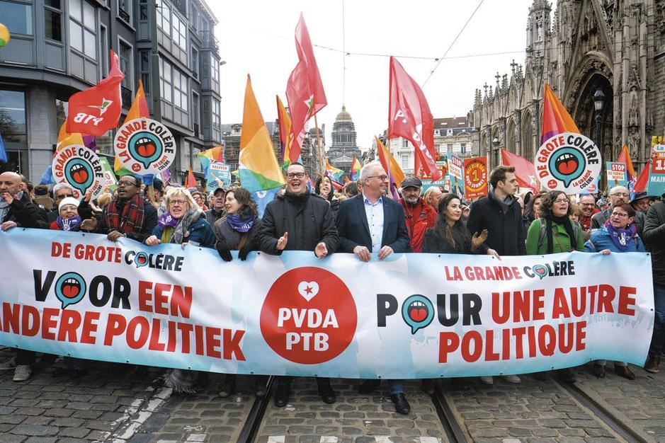 Kunnen de Franstalige socialisten de opmars van de PTB nog stuiten?