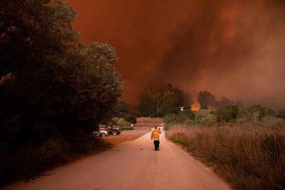 In beeld: de bosbranden in Californië