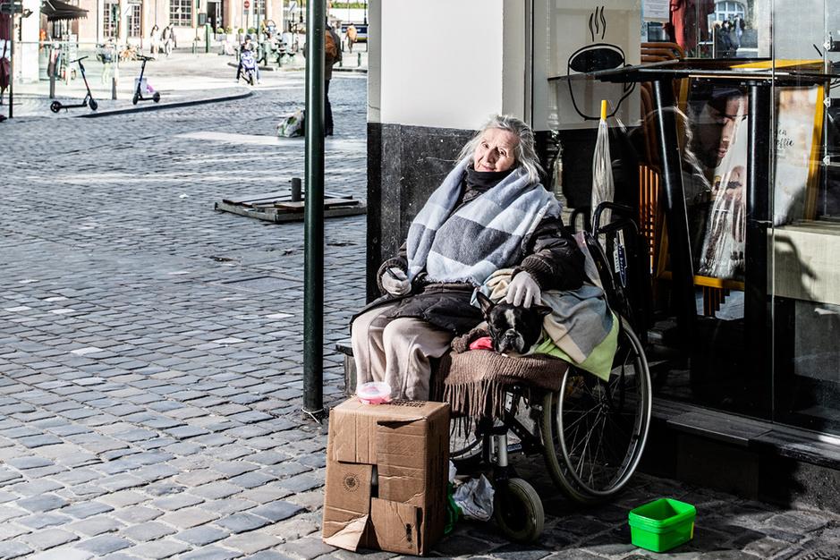 Daklozen in Brussel: 'Corona, wat is dat eigenlijk?'