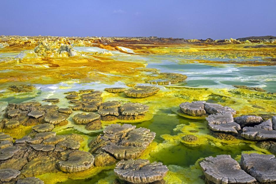 In beeld: merkwaardige landschappen van zout