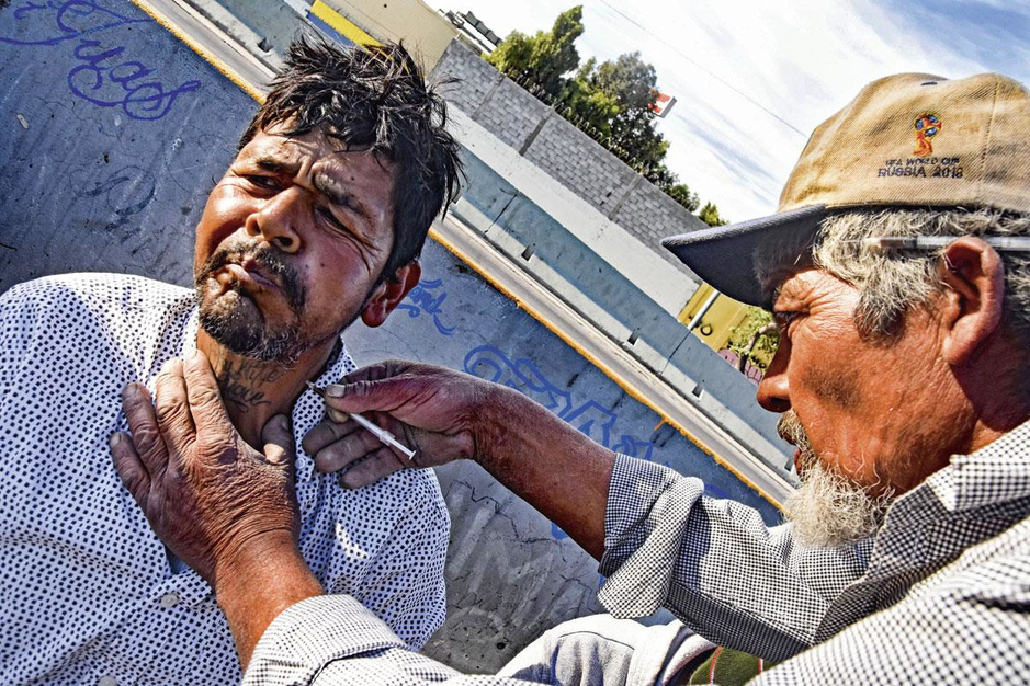 Een gesprek met dealers en verslaafden in Mexico: 'Crystal meth is de drug van de duivel'