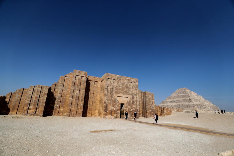 De oudste piramide van Egypte opnieuw geopend na renovatie