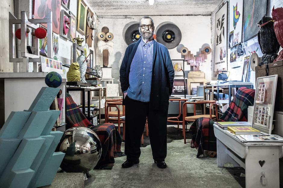 Vormgever Paul Ibou krijgt een Ultima: 'Nu zal ik nog wat moeten wachten met sterven'