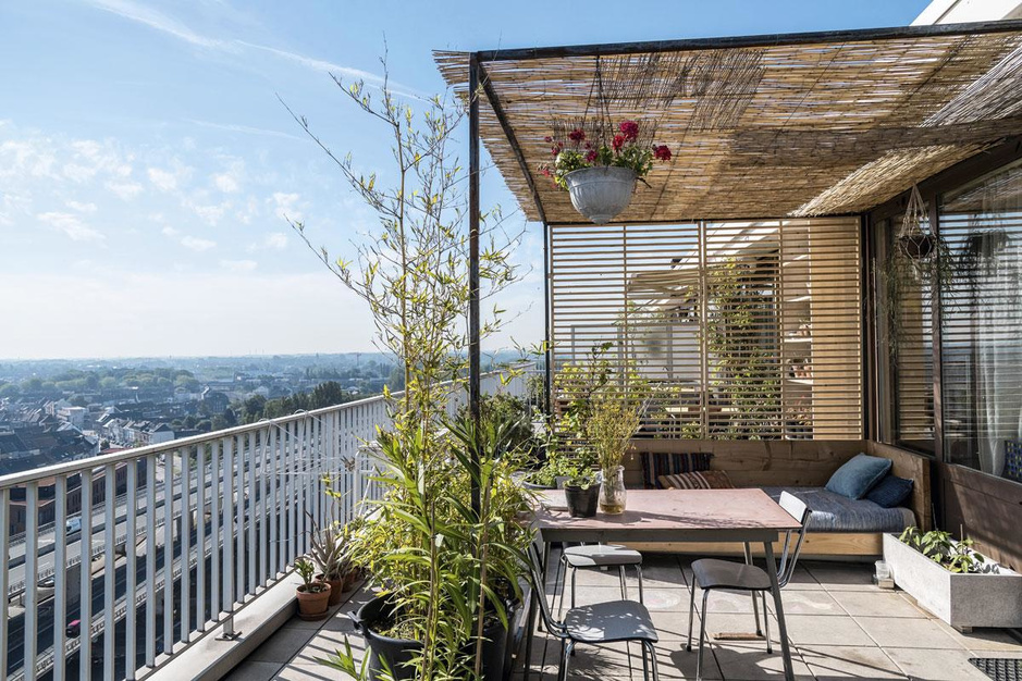 Een dakappartement als arendsnest: 'Ik breng graag mooie en lelijke dingen samen'
