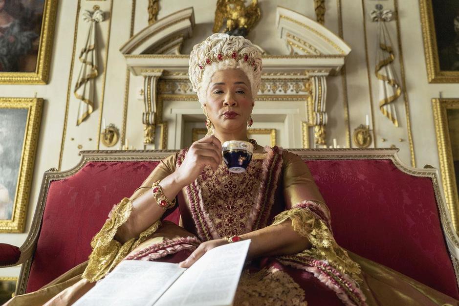 In Netflixreeks Bridgerton is de queen zwart. En dat valt amper op