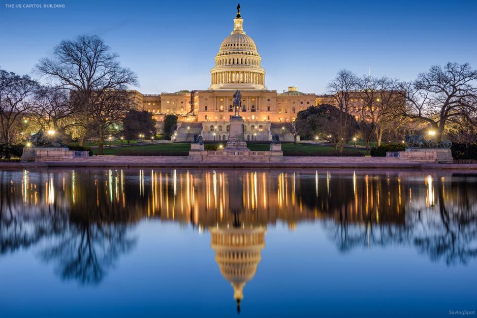 Zo had het Capitol Building in Washington D.C. eruit kunnen zien