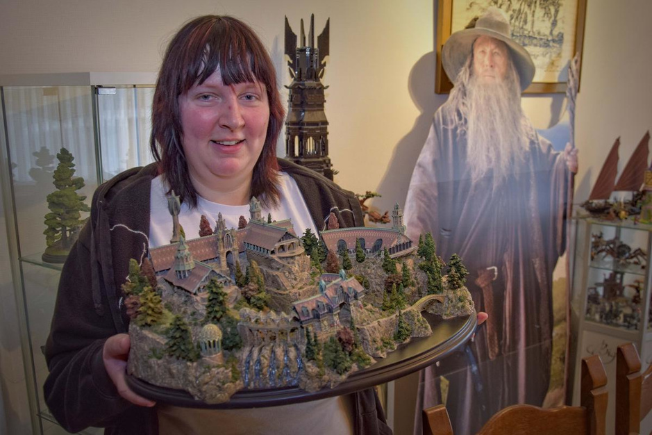 "Fanny Vandenbogaerde verzamelt alles van Disney en Lord of the Rings: ""Aparte verzekering"""