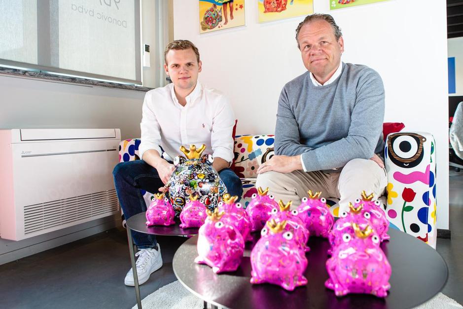 Brugs bedrijf Pomme Pidou deelt 'opkikkertjes' in keramiek uit