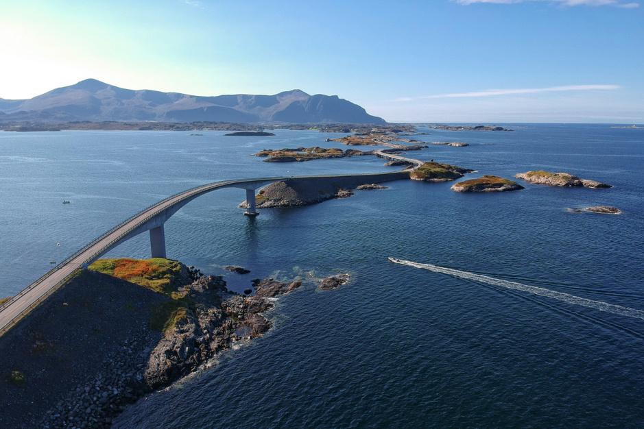 De achttien mooiste autoroutes door Noorwegen