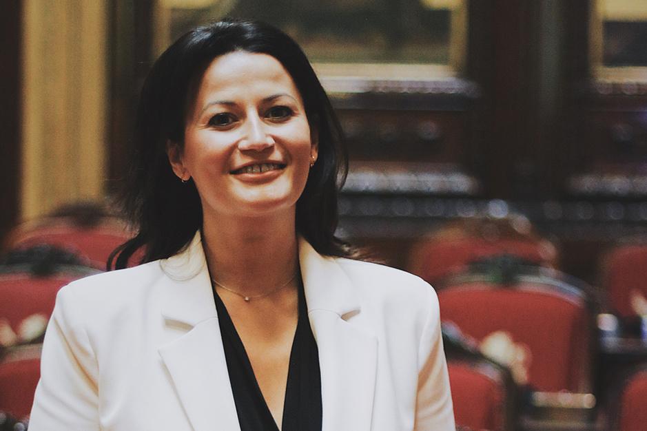 Senaatsvoorzitter Stephanie D'Hose (Open VLD): 'Ook ngo's moeten in de Senaat kunnen huizen'