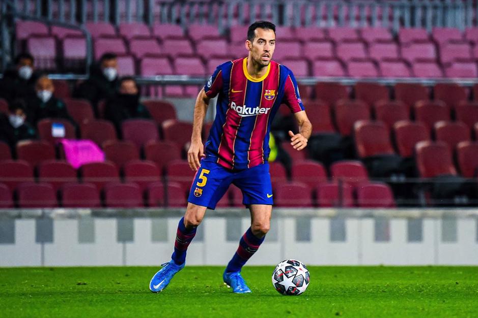Sergio Busquets, de Deschacht van FC Barcelona
