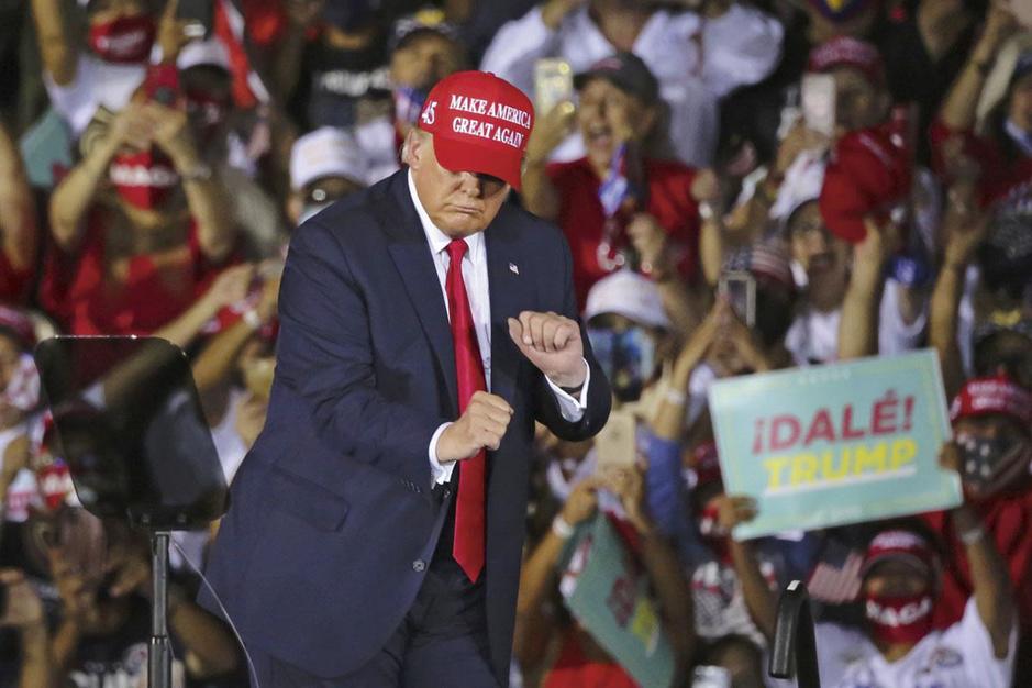 De campagne achter Donald Trump: waarom geld uitgeven als iedereen je toch al volgt?